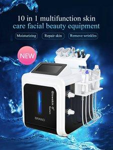 Multifunction 10 In 1 Hydra Microdermabrasion Equipment Facial Peeling Diamond Dermabrasion Deep Cleasing Skin Care Salon Use Beauty Machine