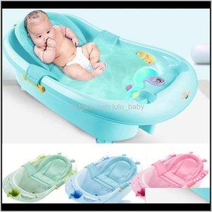Tubs Seats Baby Bath Tub Security Support Child Shower Care Born Adjustable Safety Net Cradle Sling Mesh For Infant Bathing Lj201026 R 0Mg1R