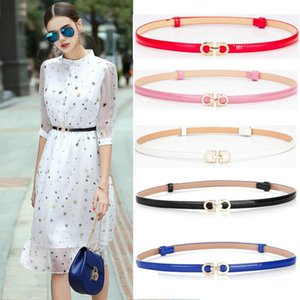 Belts Fashion Candy Colors Women Corset Belt Adjustable Thin All-match Dress Punk Elegant Waistband Simple
