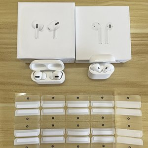 """HIGH QUALITY AirPods"""" Pro"""" AP3 Wirless Earphones real serial NO. Metal Hinge cases Rename GPS Wireless Charging Bluetooth Headphones with In-Ear Detection"""