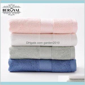 Towel Home Textiles & Garden Wholesale- 2017 Beroyal 4 Pack Bamboo Hand 34*75Cm Bamboo-Fiber Terry Face Magic Satin Toalha Set Drop De