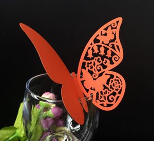 Party Supplies Laser Cut Place Cards With Butterfly Paper Cutting Name Cards For Party Place Cards Wedding Decorations