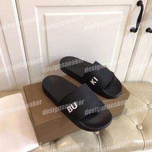 Top Quality Mens Womens Summer Beach Sandals Sandali Diapositiva Pantofole da casa Signore Scarpe da donna Trendy Stampa In Pelle Gomma A Blip flop flop