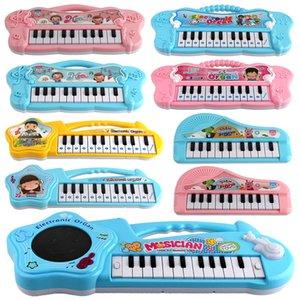 Musical Instrument Toy Baby Kids Piano Infants Teclado electrónico Educativo Early Intellectual Juguete para niños Regalo 1012 V2