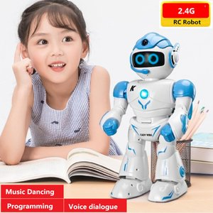Educational Robot Toy Smart Robot Touch Sensing Intelligent RC Robot With Singing Dancing Music Speaking Voice dialogue kid gift