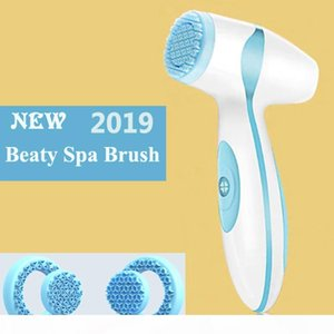 Dropshipping Link For Vip Electric Facial Cleansing Brush Sonic Pore Cleaner Nu Galvanic Spa Skin Care Massager Face lift