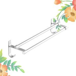 Towel Racks Hanging Storage Rack Holder Shelf For Silver