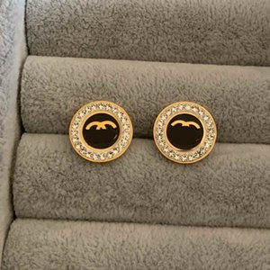 New Top Quality Extravagant jewelry Women stud Classic design earrings Stainless Steel silver flower elagant women stud earrings Wholesale