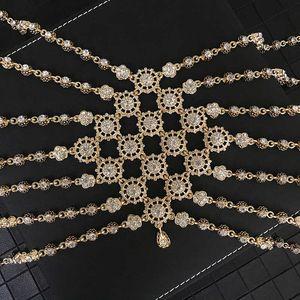 Algeria Wedding Bride Big Size Head Jewelry Arabica Sparkling Rhinestone Chain Classic Luxery Hair Accessorie Unique Design