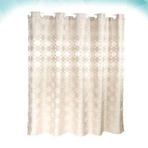 Shower Curtains Waterproof Bath Curtain Thickened Delicate Bathroom Bathing (120x180cm)
