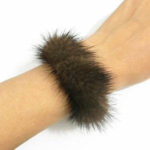 Tennis Gothletic Brand Real Stretch Bracelet Black Brown Burgundy Grey Genuine Wristband Dual Use Jewelry Accessories