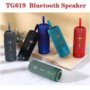 TG619 Bluetooth Speaker Mini BT Speakers Hifi Stereo Protable Wireless Soundbox Subwoofers Loudspeaker Outdoor Christmas Gift