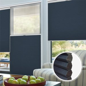 Blackout 25 Safety Cordless Manual Day Modern and Night Honeycomb Curtain Home Decoration Suitable for Bedroom