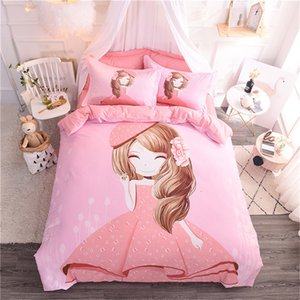 Sheets Osaka cartoon 4-piece cotton bed sheet 4-piece quilt cover home textile children's products