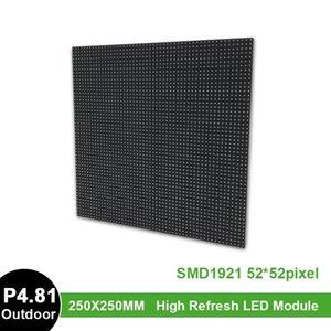 Display P4.81 Outdoor Full Color LED Module, Panel 250x250mm Screen P4 P5 P6 P8 P10 Module