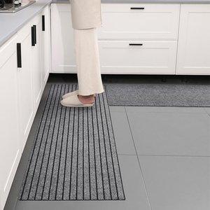 Carpets Anti Slip Kitchen Mat For Floor Modern Bath Carpet Entrance Doormat Living Room Rugs Bedroom Stripe Long