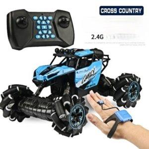 Toy car Watch Remote Control Rock Crawler Gravity Sensing Children's Year Gift Horizontal Drift Dancing Stunt