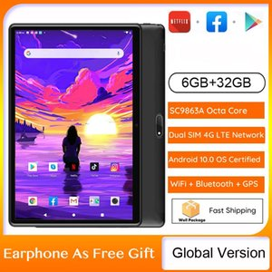 Tablet PC 10 Inch 1280x800 IPS Screen Android 10.0 Octa-core 6GB 32GB Dual SIM Card Slots 4G Phone Call With GPS Bluetooth WiFi