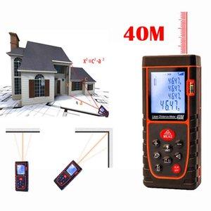 Laser rangefinder 40 meters handheld infrared measuring instrument level electronic ruler 9K9E