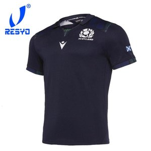 Resyo для Шотландии Рэгби Главная Джерси Спортивная рубашка S-3XL