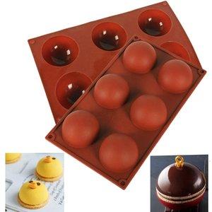 جولة شكل سيليكون العفن الشوكولاته كعكة جيلي مهلبية اليدوية الصابون خبز bpa الحرة غير عصا الخبز سيليكون قوالب diy ديكور EWF6915