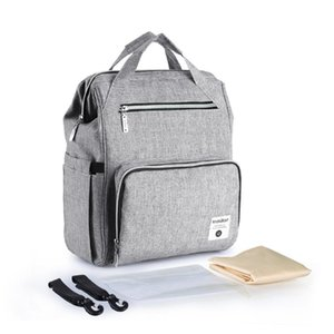 Diaper Bags Bag Backpack Multi-Function Large Capacity Nappy With Wide Open Stroller Strap Baby Products Drop