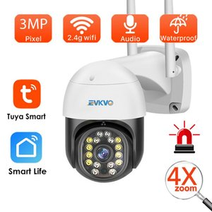 Cameras WiFi Tuya Smartlife Cam Smart Home1080P PTZ IP Camera Auto Tracking Video Surveillance 2MP Outdoor Waterproof CCTV Security