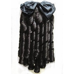 Spiral Wig Princess Stage Drama Cheongsam Evening Dress Republic of China Curl Horsetail Europe