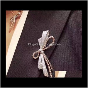 Pins Bow Brooch For Brooches Women Jewelry Gift Wear All Seasons H8Kl8 Daqbe