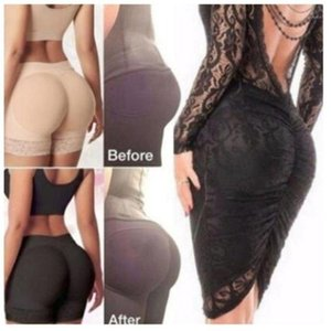 Womens Breathable Mesh Mid Rise BuLifter Underwear Seamless Floral Lace Trim Padded Panties Hip Enhancer Body Shaper Boyshort1