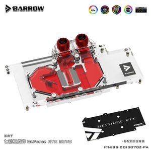 Full Coverage Water Block Use For Colorful GeForce RTX 3070 GPU Card Header A-RGB Copper Radiator Cooling Fans & Coolings