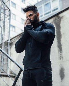 Männer Trainingsanzüge Muskelarzt Bruder Freizeit Sport Fitness Mit Kapuze Pullover Outdoor Mode Marke Pullover Mantel