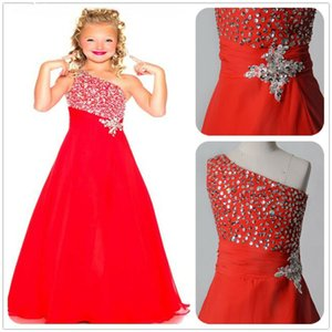 Girls Pageant Dresses Wedding Flower Dress Holy Communion Party Prom Princess for Teen Kids in stock