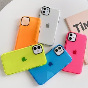 1.5mm Transparent Phone Cases Flexible Soft Back Cover Shockproof Protector for Apple iPhone 11 pro X XR Xs max 7 7p 8 8plus