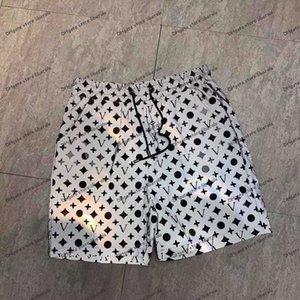 망 반바지 여름 디자이너 캐주얼 스포츠 2021 패션 빠른 건조 남자 비치 바지 흑백 아시아 크기 M-3XL