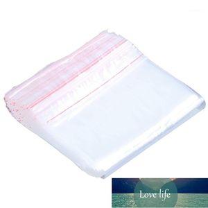 Self-sealing clear plastic bag 20 cm x 15 cm 100 pcs1