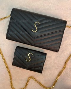 Высочайшее качество Tote Натуральная кожаная цепь женская сумка на плечо LOLOU LOLOU роскошные дизайнерские сумки Crossbody сумки сумки кошелек сумочка кошельки икры ампин