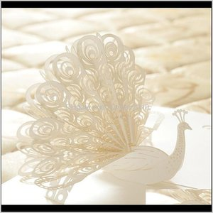 Peacock Postcards Thank You Card 3D Kids Lover Student Greeting Cards Creative Handmade Laser Cut1 3Dc1W Khmjw