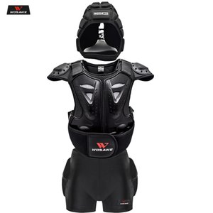 Motorcycle Children Infantil Moto Body Protection Skiing Body Armor Spine Chest Back Protector Protective Gear Bicycle