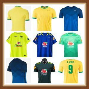 2021 2022 Camiseta Futbol Paquete Neres Coutinho Soccer Jersey Firmino Jesús Camisa de Fútbol Marcelo Pele 20 21 Maillot de Pie