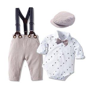 Autumn New Long Sleeved Khaki Suit Infant Clothing Boy Baby Fashion Gentleman Children's