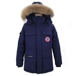Зимняя куртка мужская мужская мода густые теплые парки белые утиные слои повседневная 2020 человек s 165