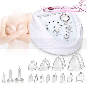 New Vacuum Therapy Body Face Massage Body Sha Lymph Drainage Breast Lifting Enhancement Massage Beauty Machine