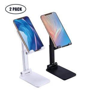 Mobiltelefonhalterung Winkelhöhe einstellbarer Desktopständer Cloudmi faltbarer Tablettenhalter mit rutschfester Basis- und Ladeöffnung