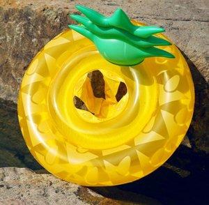 أطفال السباحة حلقة أنابيب نفخ الأناناس فراش لطيف الطفل أناناس الرياضات المياه العائمة المتسكع أريكة كرسي حمام السباحة يطفو لعبة
