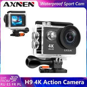 Telescopes AXNEN H9 H9R Action Camera HD 4K Wifi 170D Underwater Waterproof Sport Video Go Extreme Pro Cam