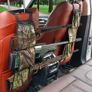 Car Seat Back Gun Sling Hanger Organizer Front Rifle Storage Bag Multifuntion Pockets For Hunting Shooting Bags