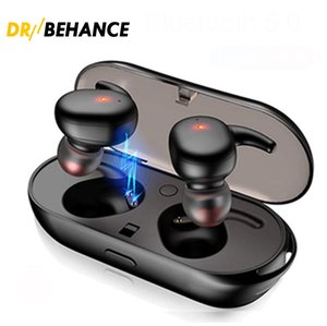 Y30 Cell Phone Earphones Wireless Blutooth 5.0 Earphone Noise Cancelling Headset HiFi 3D Stereo Sound Music In-ear Earbuds For Android IOS