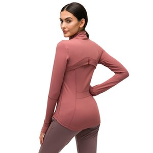 2021 Autumn and winter nylon stretch zipper running yoga Premium cotton polyester blends hoodie women active wear zip up hoodies