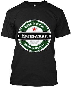 JEFF HANNEMAN T-SHIRT Mens Slayer Reign in Blood Guitar Rock Size M-5XL